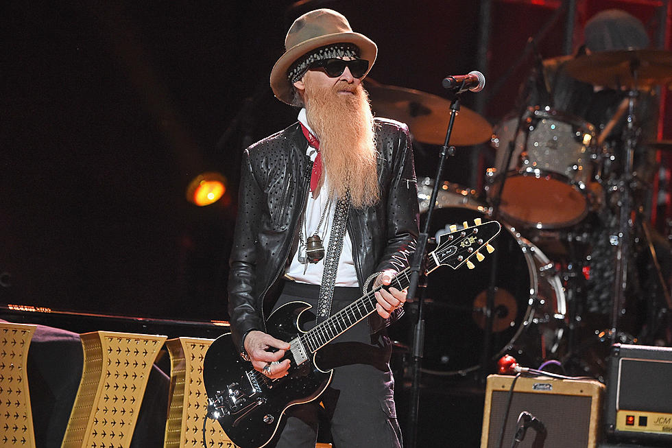 A barba de Billy Gibbons